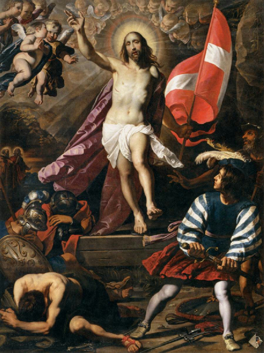Resurrection of Christ (523x700, 473Kb)