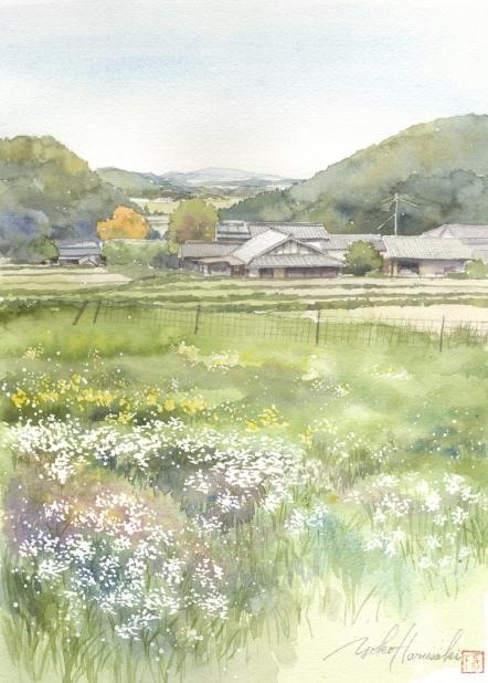 Весной сатояма (442x618, 234Kb)