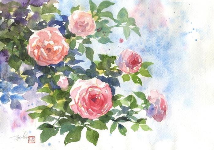 Розовые розы (700x491, 289Kb)