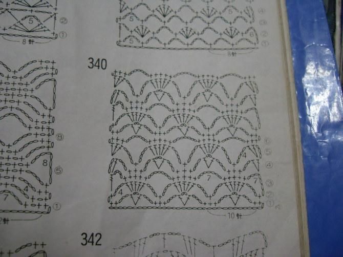 вязание ажурное простые схемы