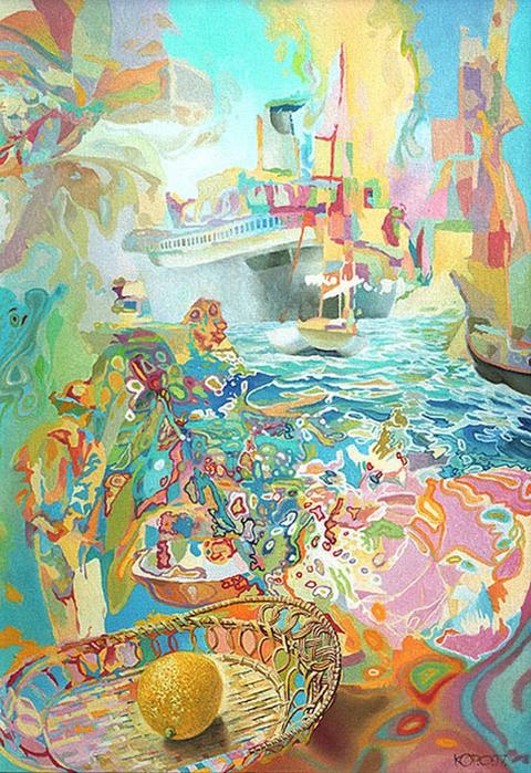 Сюрреалистическая иконопись Олега Королёва 7 (480x700, 555Kb)