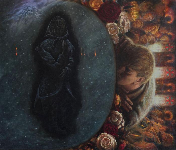 Сюрреалистическая иконопись Олега Королёва 50 (700x595, 148Kb)
