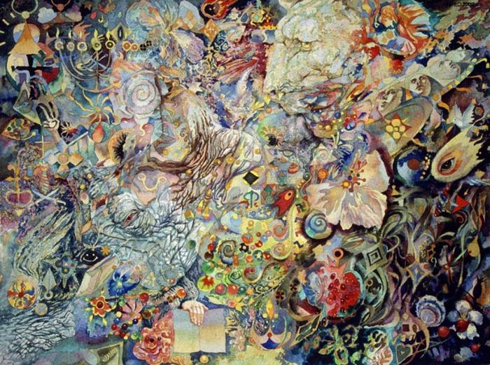 Сюрреалистическая иконопись Олега Королёва 52 (700x521, 200Kb)