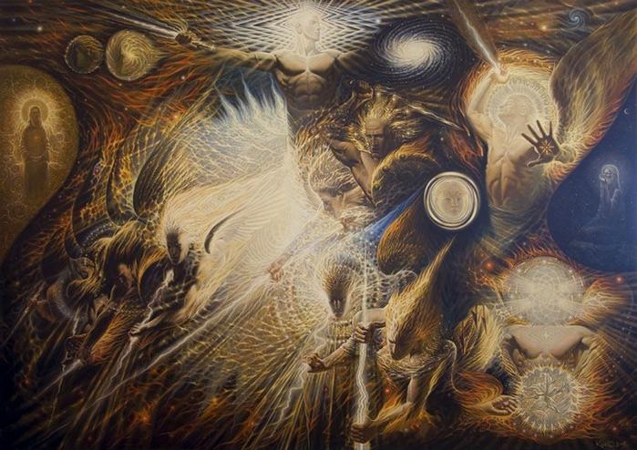 Сюрреалистическая иконопись Олега Королёва 68 (700x494, 139Kb)