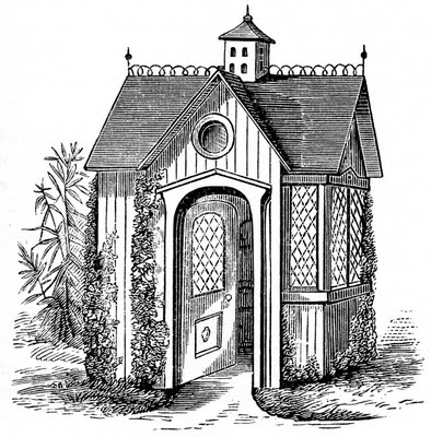 garden house vintage image graphicsfairy009b (394x400, 60Kb)
