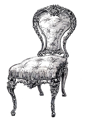 french chairs vintage image GraphicsFairy7c (287x400, 43Kb)