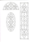 Превью Decorative Doorways Stained Glass - 07 (367x512, 50Kb)