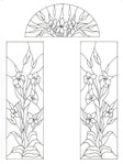 Превью Decorative Doorways Stained Glass - 09 (384x512, 57Kb)