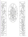 Превью Decorative Doorways Stained Glass - 21 (384x512, 55Kb)