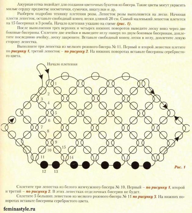 схема ажурной шкатулки крючком