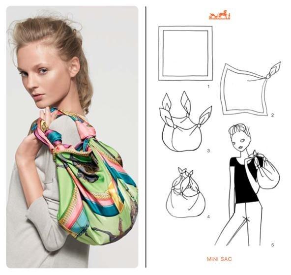 вяжем платки - Выкройки одежды для детей и взрослых.