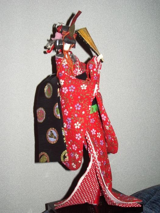 Японская кукла мастер класс сделай сам #9