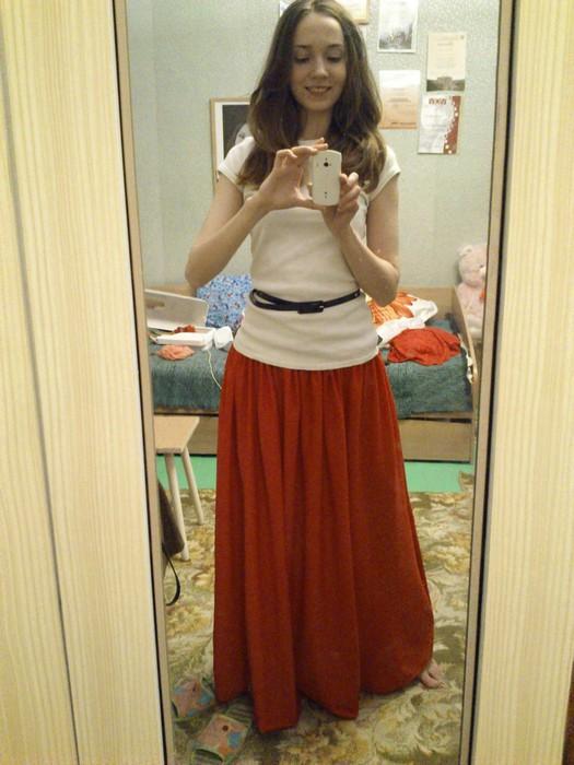 f85725389a8bf72 юбка макси своими руками - Самое интересное в блогах
