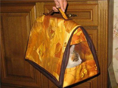 выкройка сумки переноски.