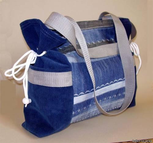 джинсовая сумка своими руками - Сумки.