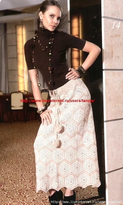 Вязание для женщин - Джемперы и пуловеры - Вязаные юбки - Вязаные платья.