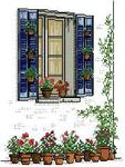 Превью JCD Blue Window with Flower Pots (179x237, 16Kb)