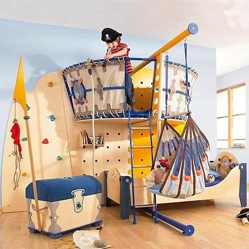 фото однокомнатной квартиры с зоной для ребенка