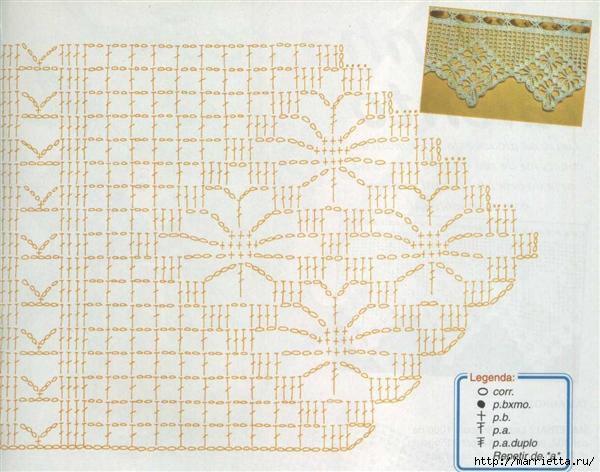 Винтажное вязание крючком. Много винтажных идей со схемами 10fotograf (600x472, 151Kb)
