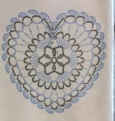 Винтажное вязание крючком. Много винтажных идей со схемами 2413929400270703587 (233x244, 32Kb)