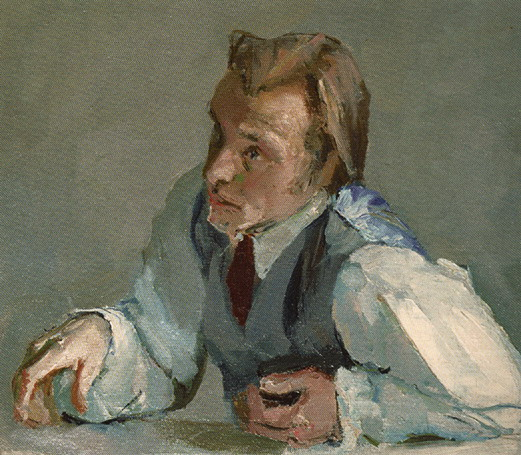 ПОРТРЕТ Д.КРАСНОПЕВЦЕВА 1949 (521x455, 98Kb)