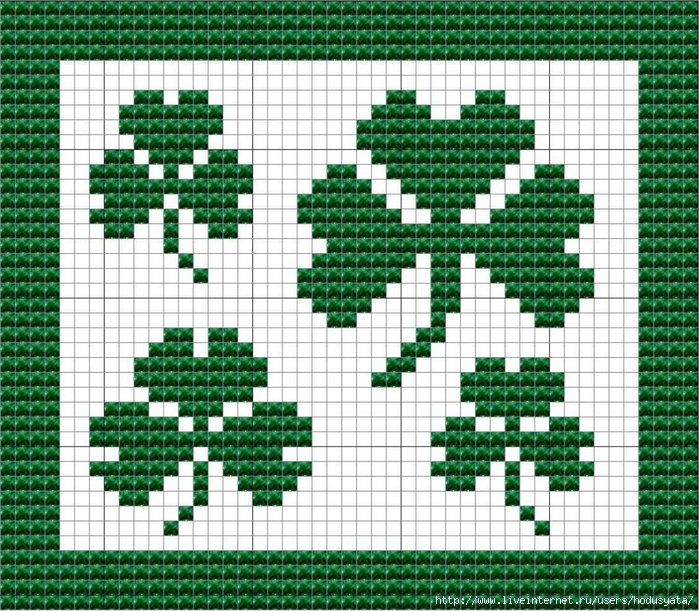 SHAMROCK CLOTH FINAL (700x611, 437Kb)