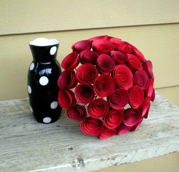 Красивые цветы из бумаги своими руками фото 800