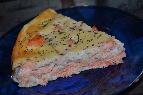 Быстрый рыбный пирог рецепт с фото