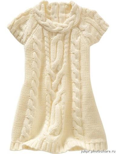 Теги: вязание спицами туника спицами туника без рукавов .  Фантазийный.