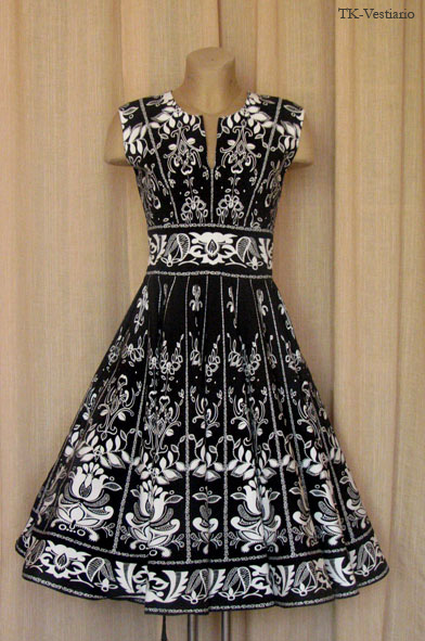 Нравятся платья в стиле 50-х, и заметьте они все с подъюбниками!