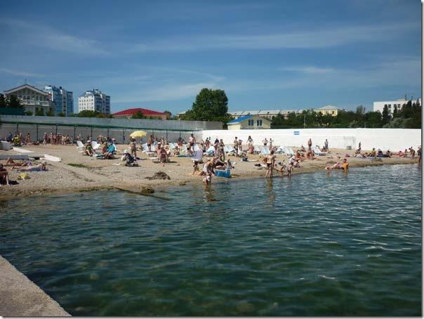 севастополь песочный пляж фото