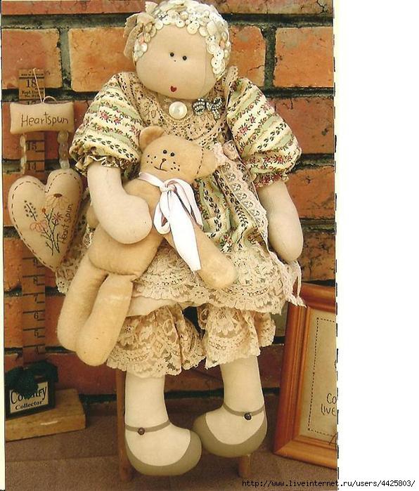 вязаные фото с выкройками прикольных кукол пушистым питомцам появился