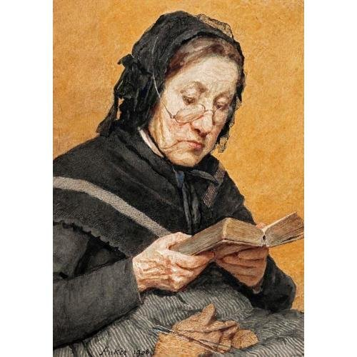 A PEASANT WOMAN READING, 1908 (500x500, 53Kb)