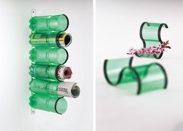 Пластиковые бутылки в интерьере