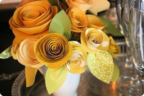 Eighteen seconds before sunrise - DIY: бумажные цветы своими руками