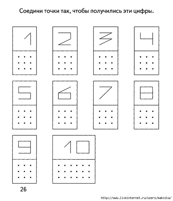 Знакомства с нумерацией задания