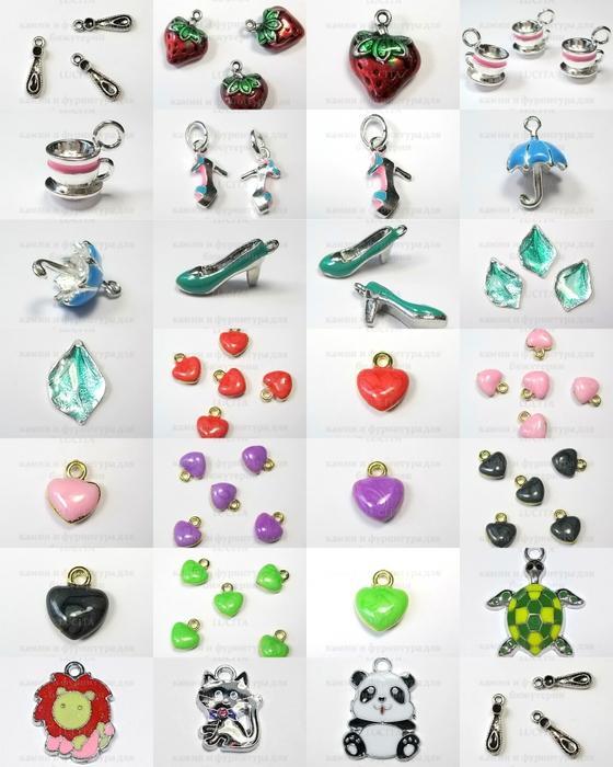 цветные подвески для бижутерии - Самое интересное в блогах 348667f8ed7
