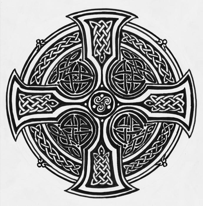 кельтский крест самое интересное в блогах