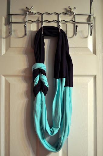 Как сшить снуд из шарфа своими руками