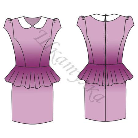 98d01a6c405 платья с баской - Самое интересное в блогах