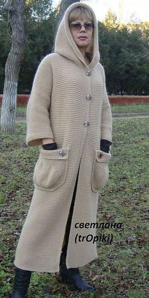 Вязание пальто бохо от волкодав 295