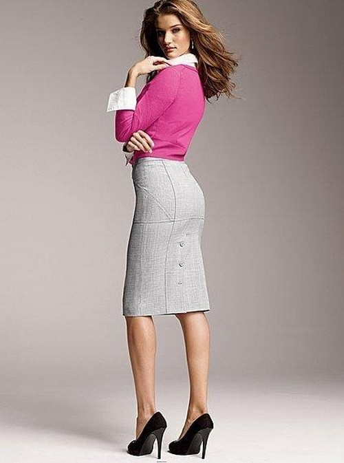 Forever 21 pencil skirt outfits