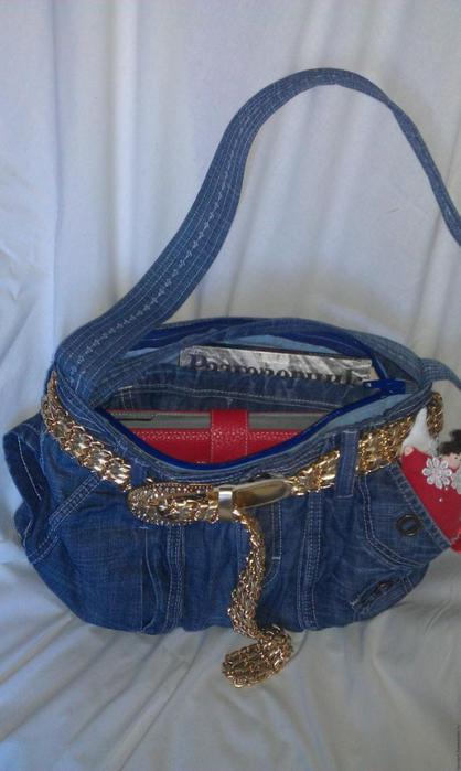 a3114f80189a Модная сумка из старых джинсов. Обсуждение на LiveInternet ...