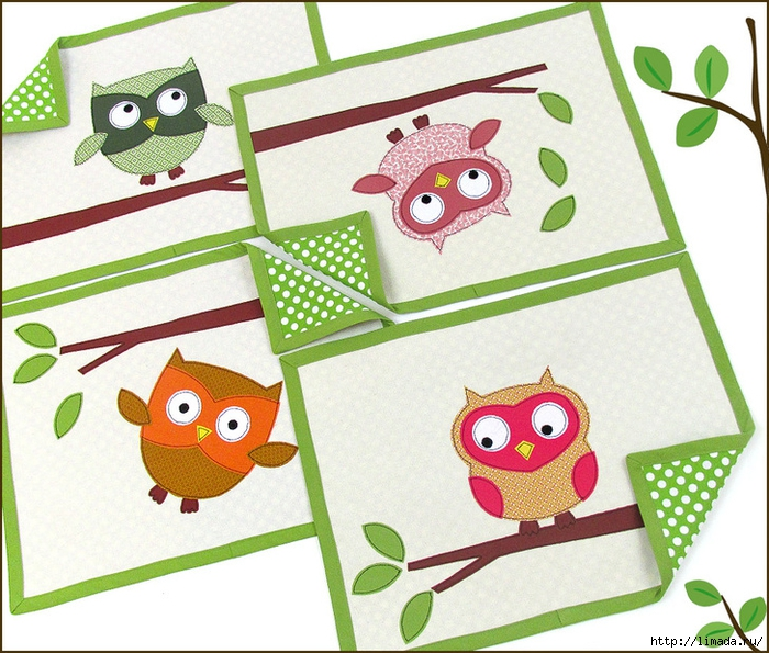 1966-Owl-Placemats-1 (700x595, 356Kb)