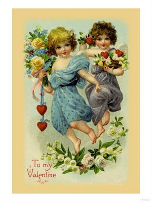 0-587-10513-5-Two-Angel-Girls-with-Flowers-Posters (300x400, 105Kb)