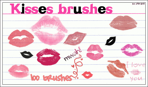 Kisses_brushes_by_stardixa (620x367, 272Kb)