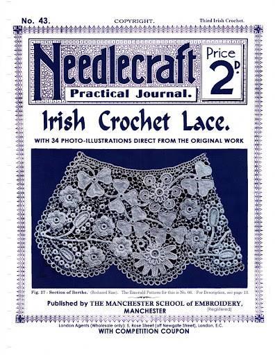 No43NeedlecraftJournalIrishCrochetLace (396x512, 119Kb)
