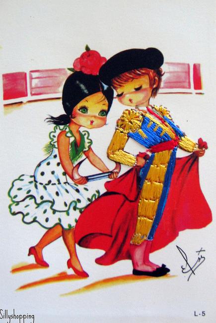 Испания на открытках, пятничкой