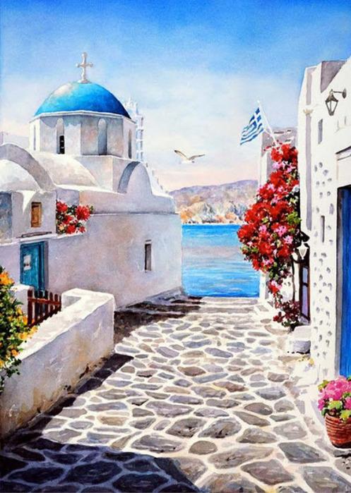 пейзажи фото греции