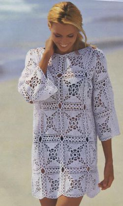 вязаные крючком одежда для женщин обсуждение на Liveinternet